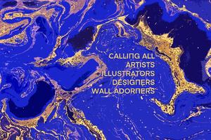 Open Call to all Artists, Illustrators, Designers & Creative Wall Adorners!