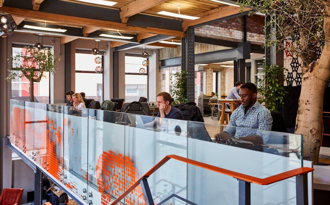 coworking desk space office ancoats manchester