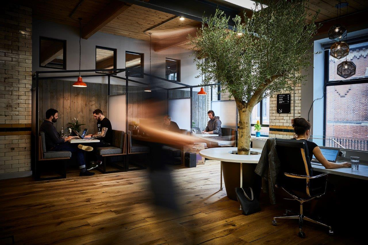 benefits of coworking office space manchester
